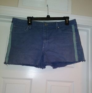 gap slim cut off shorts